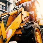 Excavators in Landscaping