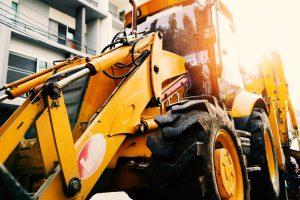 Excavators in Landscaping